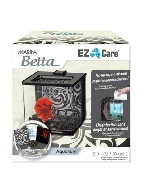 Marina Betta Ez Care Kit 2,5l Negro