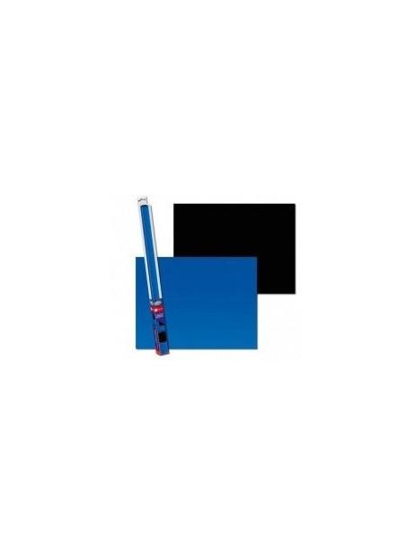 Fondo de Acuario Negro/Azul 150x60