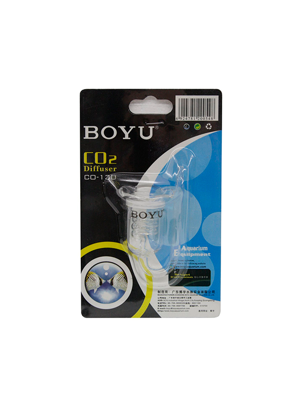 Boyu Difusor de co2 cristal CO-130
