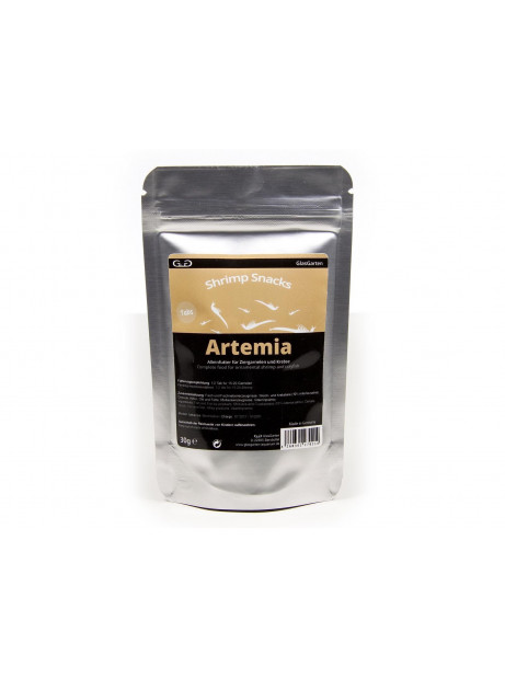 GLASGARTEN SHRIMP SNACK ARTEMIA, 30g