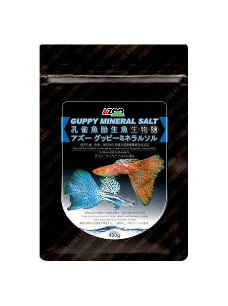 GUPPY MINERAL SALT 400G