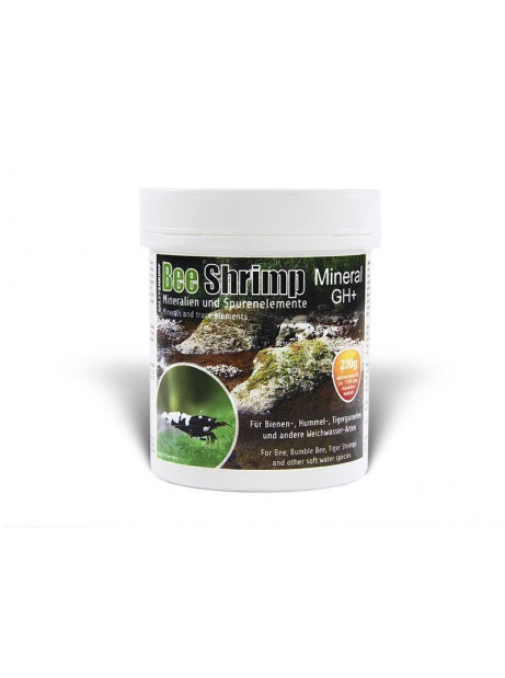 SALTYSHRIMP BEE SHRIMP MINERAL GH+, 230gr